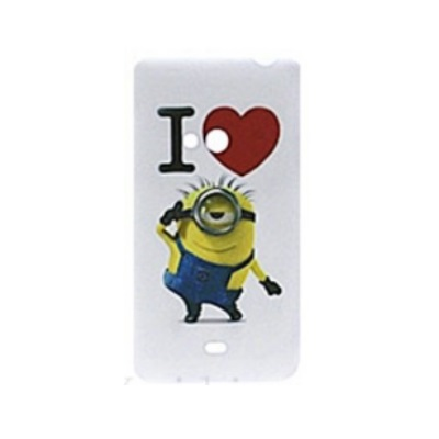 Lumia 625 suojakuori Minion I love