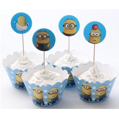 Muffinssivuoka koriste Minion
