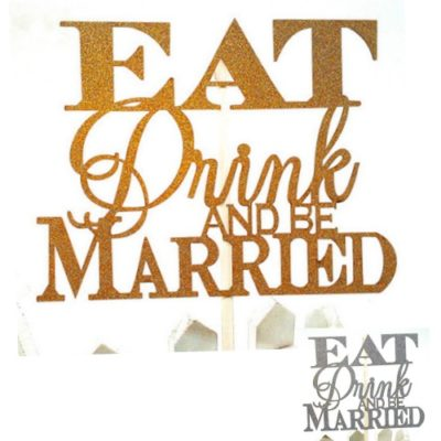 Kakunkoriste Eat drink and be married